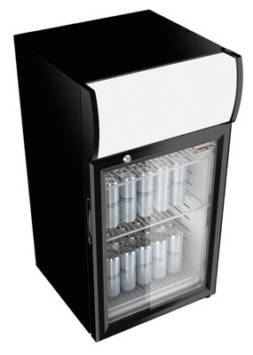 Gastro Cool GCDC25 display koelkast (25 liter)