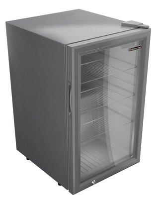 Gastro Cool GCKW65 zilver koelkast (68 liter)
