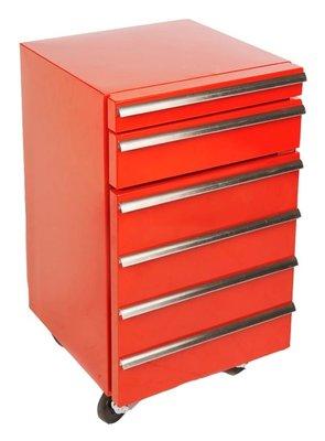 Gastro Cool GCCT50-2R rood werkplaats koelkast (50 liter)