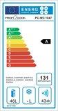 afbeelding van energielabel PC-WC 1047