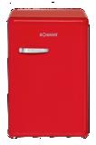 Bomann VSR 352 red A++ koelkast (130 liter)