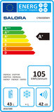 Salora CFB4300WH A+ koelkast (50 liter)_