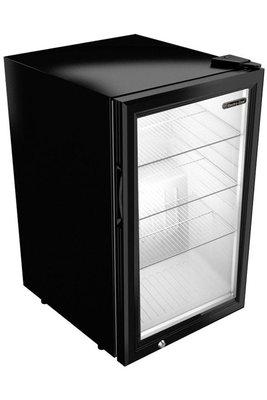 Gastro Cool GCKW65 zwart/wit koelkast (68 liter)