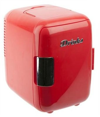 Balvi Eggy Fridge fury red koelkast (4 liter)