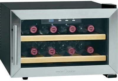ProfiCook PC-WC 1046 wijnkoelkast (8 flessen)