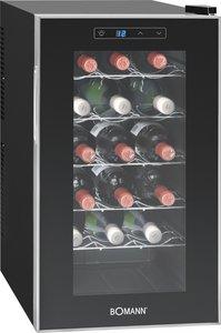 Bomann KSW 345 wijnkoelkast (18 flessen)
