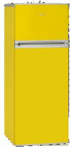 Bomann DT 349 geel A++ koelkast (212 liter)